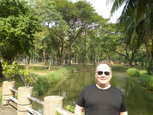 Robert in Lumphini Park