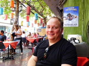 Robert on Khao San Road