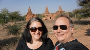 Us in Bagan