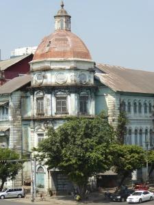 Colonial architecture in Yangon