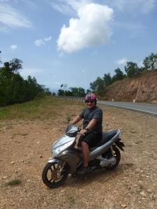 Moto'ing on Bokor Mountain
