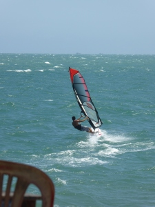 WInd surfing in Ham Tien