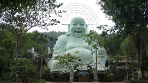 Happiest Buddha ever?