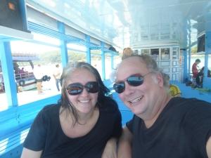 On the Funky Monkey booze cruise