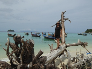 Hanging on the beach in Koh Lipe
