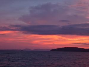 Sunset in Ao Nang