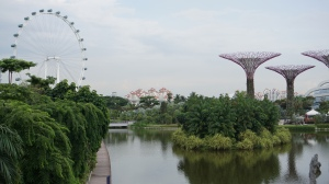 Gardens by the Bay and the Eye