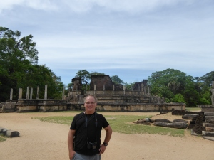 Robert in Polonnaruwa