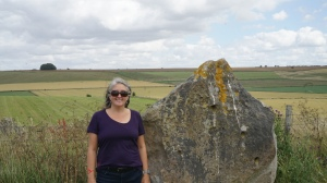 Lisa at Avebury