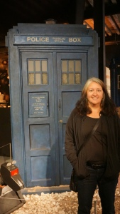Lisa by a Tardis