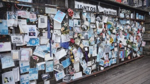 Ianto Jones tribute wall