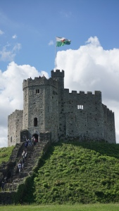 The keep at Cardiff castle