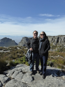 On the top of Table Mountain