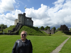 Robert at Cardiff Castle