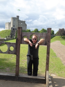 Robert in the stocks
