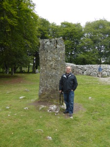 Robert at Clava Cairn