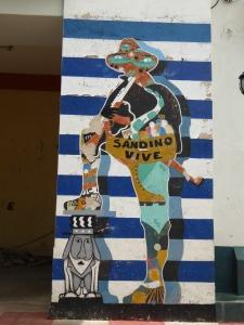Mural in Leon