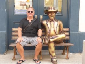 Robert with Jack Daniels