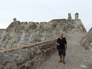 Robert at the old fort