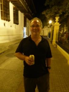 Robert and his street beer