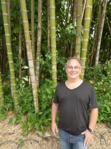 Robert in the bamboo
